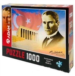 Adam Games Mustafa Kemal Atatürk 1000 Parça Puzzle 48 x 68