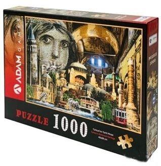 Adam Games Türkiye nin Tarihi Mirası 1000 Parça Puzzle 48 x 68