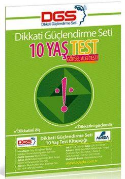 Adeda Yayınları Dikkati Güçlendirme Seti Test 10 Yaş