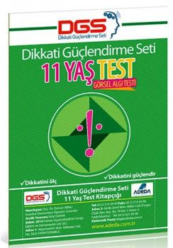 Adeda Yayınları Dikkati Güçlendirme Seti Test 11 Yaş