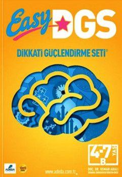 Adeda Yayınları Easy Dikkati Güçlendirme Seti 4 7 Yaş B