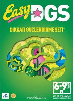 Adeda Yayınları Easy Dikkati Güçlendirme Seti 6 9 Yaş B
