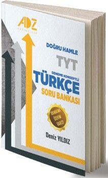 Adz YayınlarıTYT Türkçe Doğru Hamle Deneme Konseptli Soru Bankası