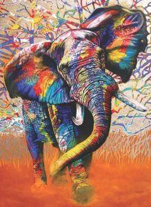 Afrika Renkleri African Colours 1000 Parça Puzzle - Yapboz