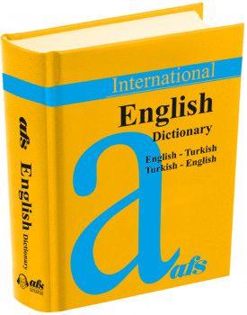 AFS Yayıncılık English Dictionary İngilizce Cep Sözlük