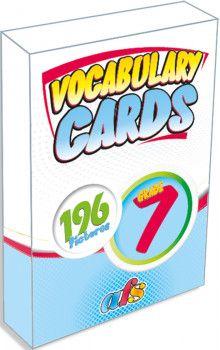 AFS Yayıncılık 7. Sınıf Vocabulary Cards