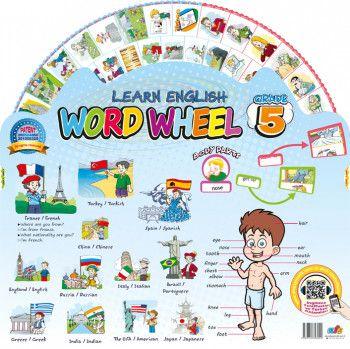 AFS Yayıncılık Word Wheel Grade 5