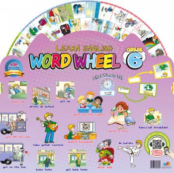 AFS Yayıncılık Word Wheel Grade 6