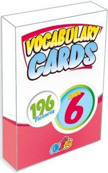 AFS Yayıncılık 6. Sınıf Vocabulary Cards