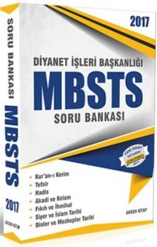 Ahsen Kitap 2017 MBSTS Soru Bankası