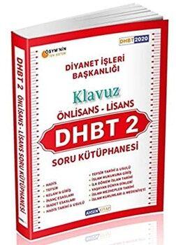 Ahsen Kitap DHBT 2 Klavuz Ön Lisans Lisans Soru Kütüphanesi Soru Bankası