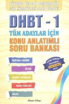 Ahsen Kitap Yayınları 2016 DHBT 1 Tüm Adaylar için Konu Anlatımlı Soru Bankası