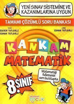 Akademi Çocuk Yayınları 8. Sınıf Kankam Matematik Tamamı Çözümlü Soru Bankası