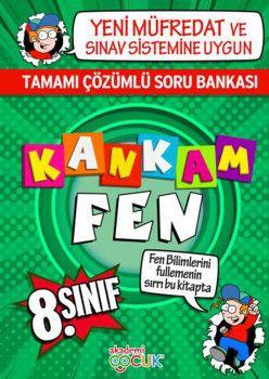 Akademi Çocuk Yayınları 8. Sınıf Kankam Fen Tamamı Çözümlü Soru Bankası