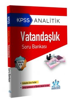 Akademi Denizi  KPSS Analitik Vatandaşlık Soru Bankası