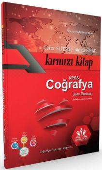 Akademi Denizi Yayınları 2017 KPSS Coğrafya Soru Bankası Kırmızı Kitap