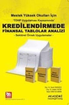 Akademi EğitimMYO Kredilendirmede Finansal Tablolar Analizi
