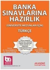 Akademi Yayınları Banka Sınavlarına Hazırlık Türkçe Üniversite Mezunları İçin