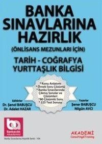 Akademi Yayınları Banka Sınavlarına Hazırlık Türkçe  Coğrafya Yurttaşlık Bilgisi Önlisans Mezunları İçin
