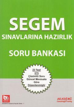 Akademi Yayınları SEGEM Sınavlarına Hazırlık Soru Bankası