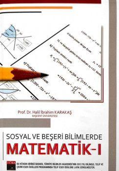 Akademi Yayınları Sosyal ve Beşeri Bilimlerde Matematik 1