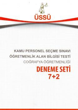 Akademik Üssü Yayınları 2017 ÖABT Coğrafya Öğretmenliği 7+2 Deneme