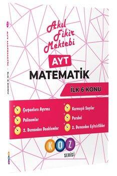Akıl Fikir Mektebi Ayt Matematik İlk 6 Konu