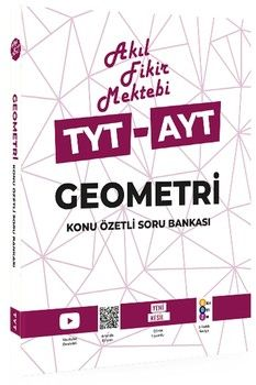 Akıl Fikir Mektebi TYT AYT Geometri Konu Özetli Soru Bankası