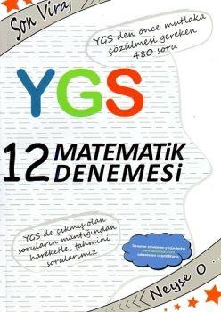 Akıl Yayınları YGS Son Viraj Matematik 12 Deneme