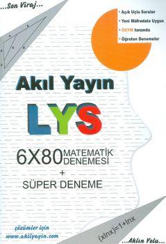 Akıl Yayınları LYS Matematik Denemesi 6x80 ve Süper Deneme