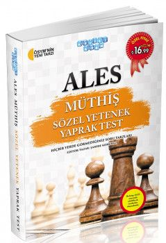 Akıllı Adam ALES Müthiş Sözel Yetenek Yaprak Test