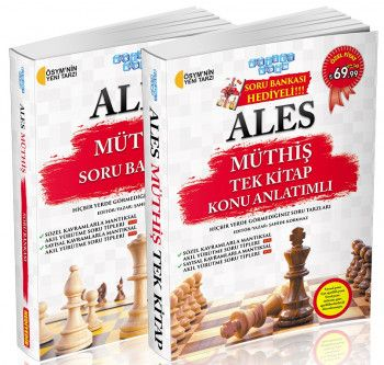 Akıllı Adam ALES Müthiş Tek Kitap Konu Anlatımlı Soru Bankası Hediyeli