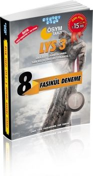 Akıllı Adam ÖSYM Tarzı LYS3  8 Fasikül Deneme Sınavı