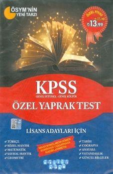 Akıllı Adam KPSS Genel Kültür Genel Yetenek Özel Yaprak Test