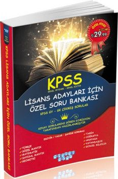 Akıllı Adam KPSS Genel Yetenek Genel Kültür Özel Soru Bankası