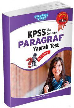 Akıllı Adam KPSS Lise Ön Lisans Paragraf Yaprak Test