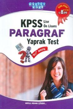 Akıllı Adam KPSS Paragraf Yaprak Test