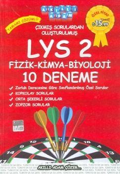 Akıllı Adam LYS 2 Tamamı Çözümlü 10 Deneme