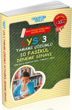 Akıllı Adam LYS 3 Türk Dili ve Edebiyatı Coğrafya 1 Tamamı Çözümlü 10 Fasikül Deneme Sınavı