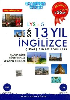 Akıllı Adam LYS 5 İngilizce Çıkmış Sınav Soruları