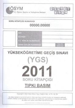 Akıllı Adam Yayınları YGS 2011 Tıpkı Basım Soru Kitapçığı