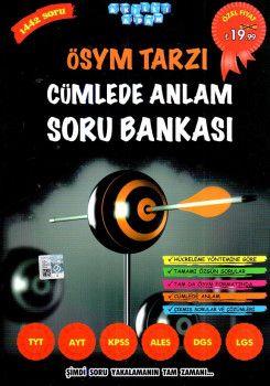 Akıllı Adam Yayınları TYT AYT KPSS ALES DGS LGS ÖSYM Tarzı Cümlede Anlam Soru Bankası