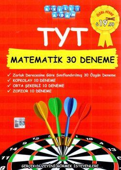 Akıllı Adam Yayınları YKS 1. Oturum TYT Matematik 30 Deneme
