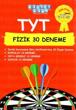 Akıllı Adam Yayınları YKS 1. Oturum TYT Fizik 30 Deneme