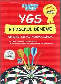 Akıllı Adam YGS 9 Fasikül Deneme Gerçek Sınav Formatında