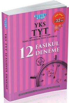Akıllı Adam YKS 1. Oturum TYT Türkçe Matematik 12 Fasikül Deneme