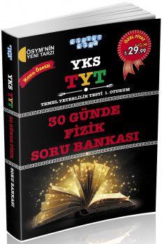 Akıllı Adam YKS 1. Oturum TYT 30 Günde Fizik Soru Bankası