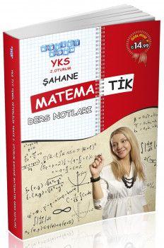 Akıllı Adam YKS 2. Oturum Şahane Matematik Ders Notları
