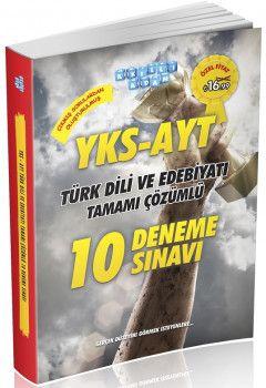 Akıllı Adam YKS 2. Oturum AYT Şahane Türk Dili ve Edebiyatı 10 Deneme Sınavı