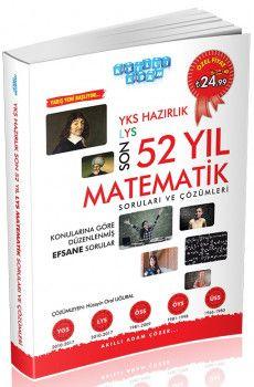 Akıllı Adam YKS Hazırlık Son 52 Yıl Matematik Soruları ve Çözümleri
